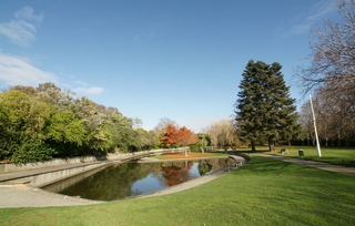 公园池塘图片欣赏
