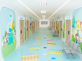 儿童医院背景图片
