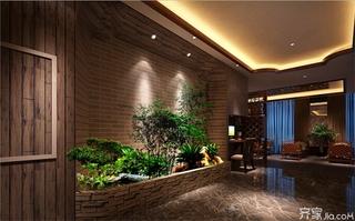美容院室内景观设计图片