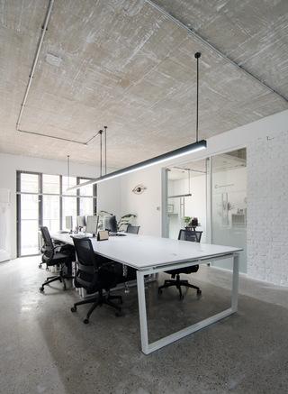 开物工作室办公空间装修设计图