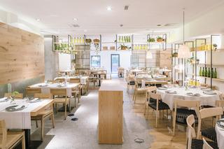 明亮自然美食店装修效果图