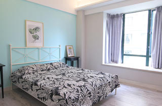 80平米北欧风卧室装修效果图