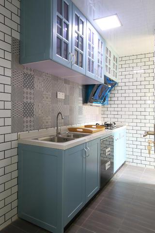 80平米北欧风厨房装修效果图