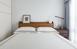 106㎡复式简约风卧室装修效果图