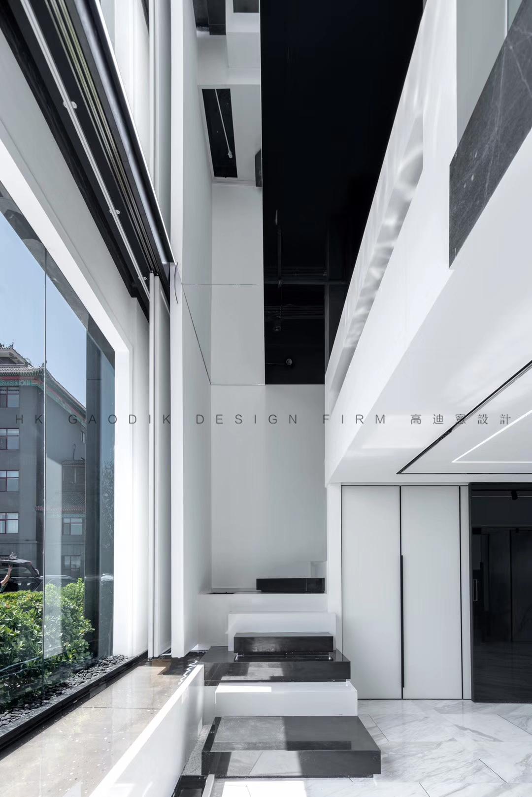 极简现代风办公室装修效果图
