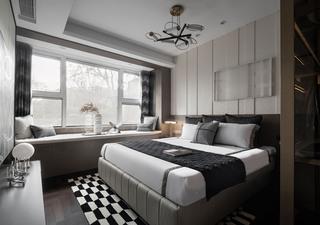 大户型现代轻奢风卧室装修效果图