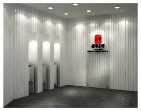 公司前台背景墙设计效果图