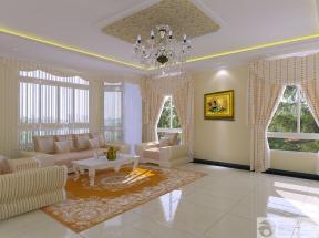 最新简欧风格客厅沙发摆放设计图