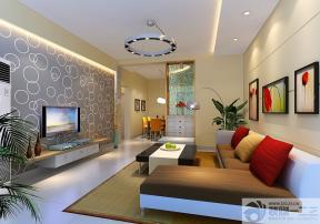 新房客厅布艺沙发装修效果图