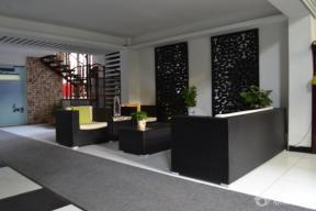 现代办公室室内设计实景图