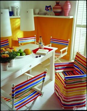 地中海家庭室内客厅沙发套装修设计图片