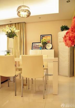 温馨小户型二室二厅饭厅灯饰简装效果图大全