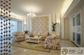 房屋客厅布艺沙发设计图