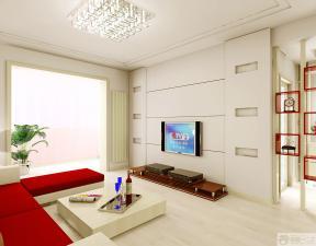 现代风格新房客厅装修效果图