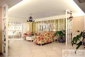田园风格家庭客厅设计图