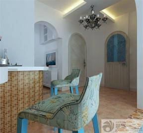 地中海风格拱形门洞设计图