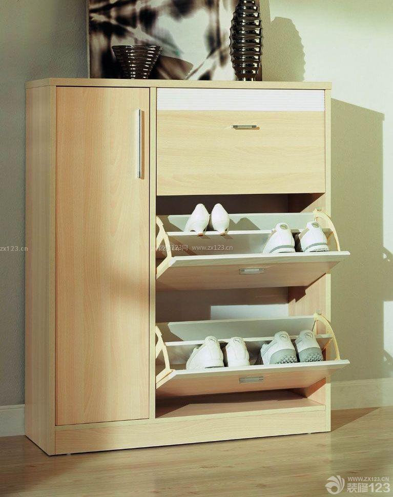 现代风格实木鞋柜设计效果图大全