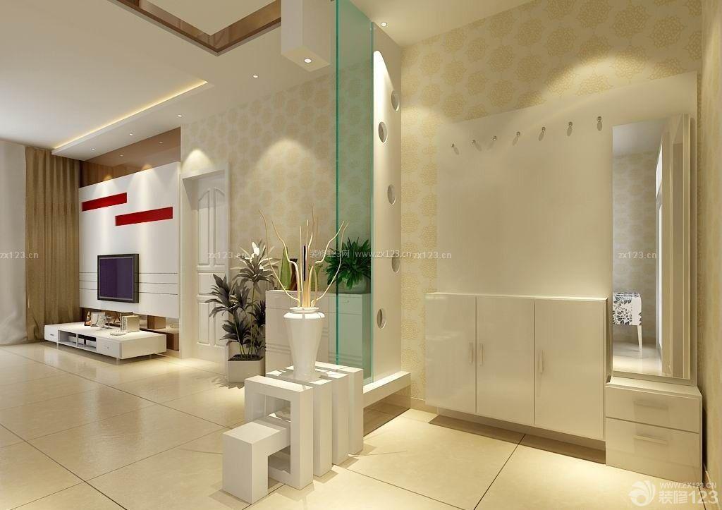 现代温馨90平米家居室内鞋柜设计效果图欣赏