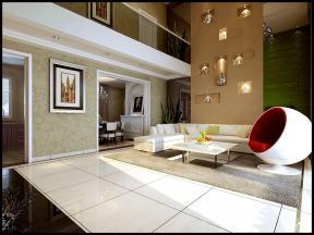 简约设计风格异型沙发装修效果图