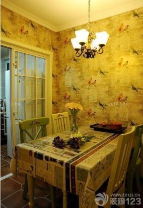 时尚家庭餐厅餐桌餐椅设计图大全