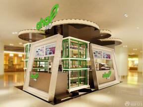 创意温馨小型奶茶店装修效果图