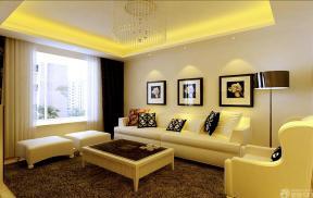简约风格客厅组合沙发样板间图片