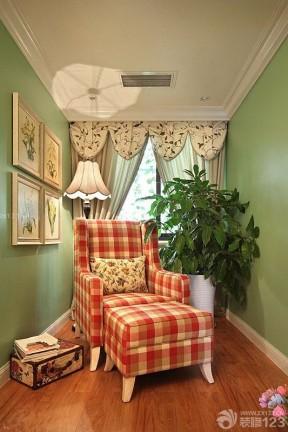 温馨家居美式休闲椅装修实景图片