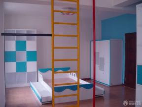 现代简约风格儿童房设计实景图
