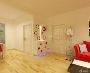 80平米房子时尚现代风格进门鞋柜设计图片
