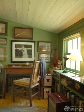 二层别墅阁楼书房设计效果图片