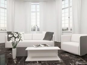 小别墅后现代风格窗帘装修样板