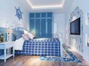地中海风格65平米两室一厅装修实景图欣赏