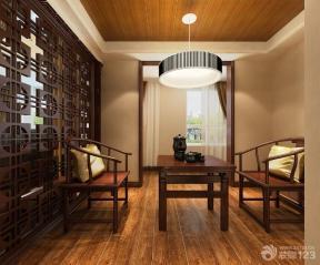 中式休闲区别墅室内设计装修效果图