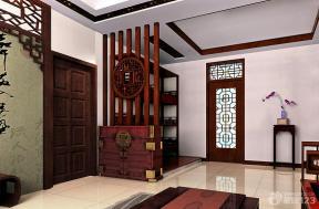中国古典风格玄关设计效果图