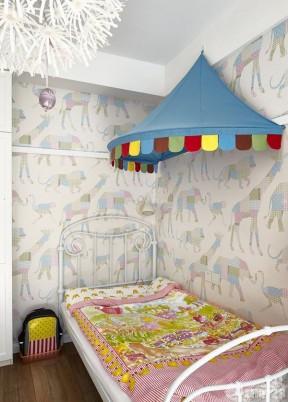 一室家装儿童卧室设计案例图
