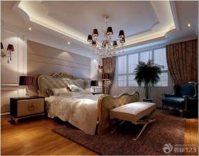 欧式室内装潢卧室效果图