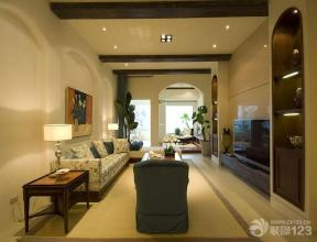 地中海风格设计客厅装修效果图