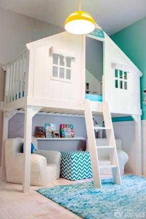 现代风格小户型儿童房间布置图