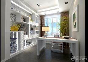 中式风格设计书房装修效果图