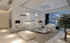 现代简约风格客厅装饰装修效果图