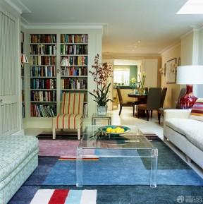最新现代家庭室内客厅置物凳装修图片大全