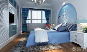 地中海风格卧室装饰样板间