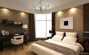 现代混搭风格卧室装修效果图