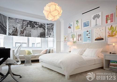 小户型主卧床头背景墙设计图