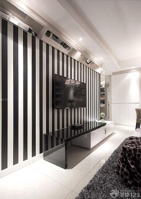 小户型装修空间家庭电视背景墙实景图