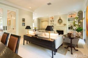 90平方米房子客厅装修样板房效果图