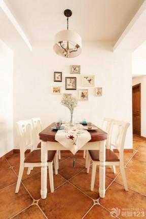 2014最新家装样板房小餐厅照片墙装修效果图
