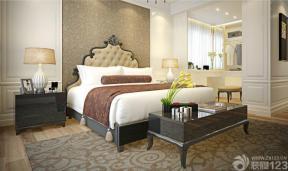 欧式卧室三室两厅装修设计效果图