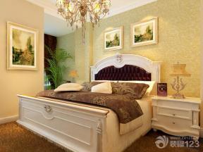 欧式卧室跃层式住宅装修效果图