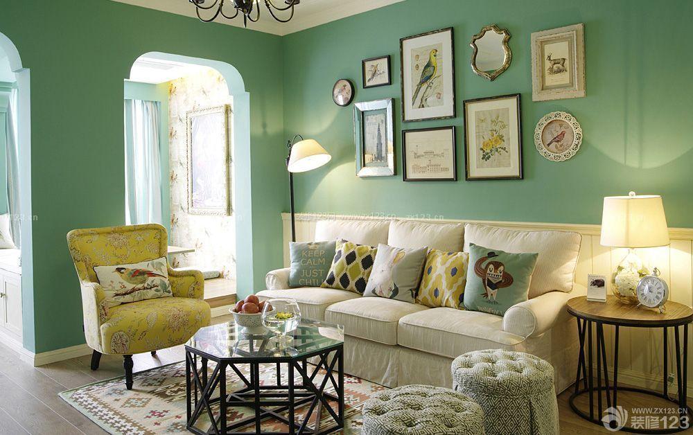 简欧田园风格小户型欧式沙发图片